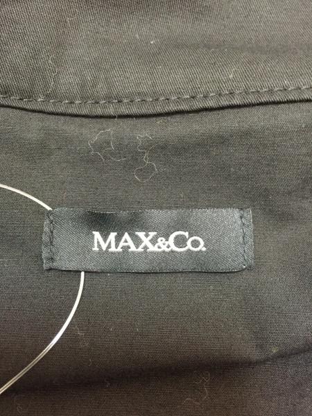 マックス&コー ブルゾン サイズ42 M 黒