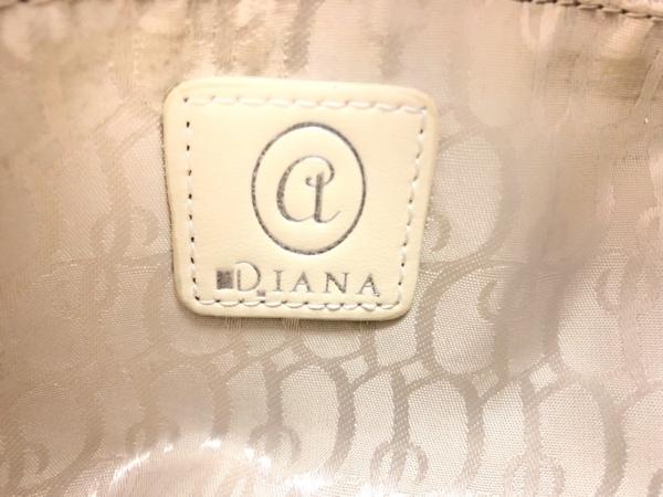 DIANA(ダイアナ) ハンドバッグ 白 レザー