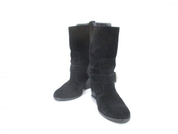 ジュゼッペザノッティ ブーツ 35 黒