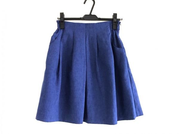 AG by aquagirl(エージーバイアクアガール) スカート サイズS レディース美品  ブルー