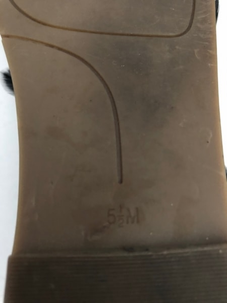 ナインウエスト サンダル 5 1/2 M 羽根