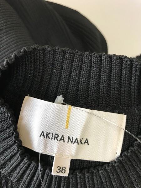 アキラナカ ワンピース サイズ36 S 黒