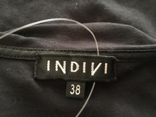 インディビ 長袖カットソー サイズ38 M 黒