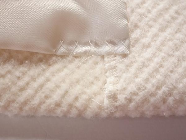 ルスーク コート サイズ38 M レディース 白
