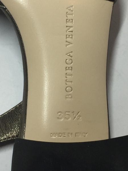 ボッテガヴェネタ サンダル 35.5 ゴールド