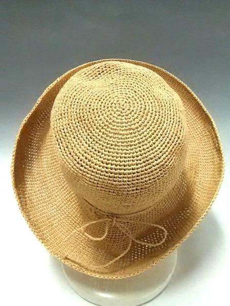 ヘレンカミンスキー 帽子 アイボリー