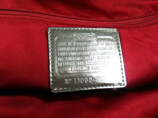 COACH(コーチ) ハンドバッグ美品  16294 黒