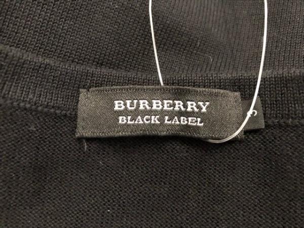 バーバリーブラックレーベル 長袖セーター