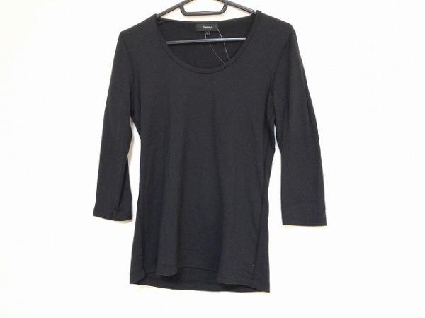 セオリー 七分袖Tシャツ サイズS 黒