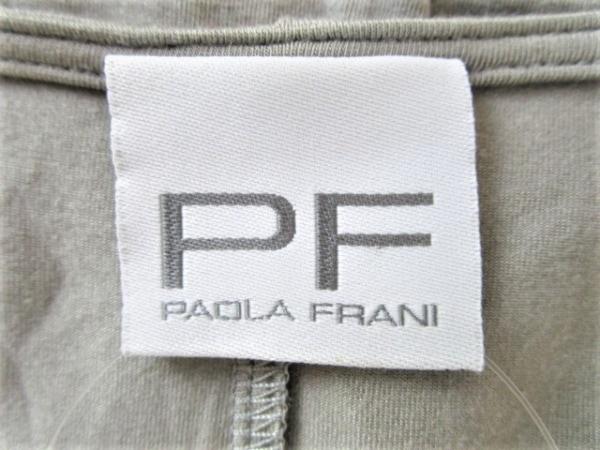 パオラ フラーニ ボレロ サイズ40 M グレー