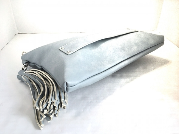ナノユニバース クラッチバッグ タッセル