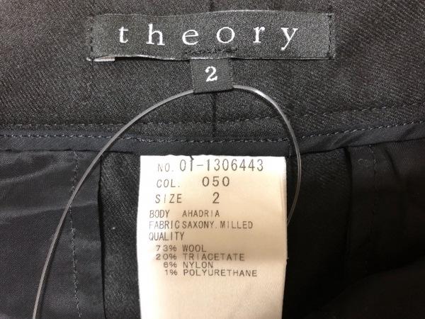 セオリー ショートパンツ サイズ2 S 黒