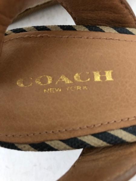 COACH(コーチ) サンダル 7B レディース