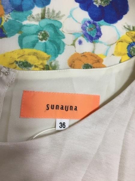 スーナウーナ ワンピース サイズ36 S美品