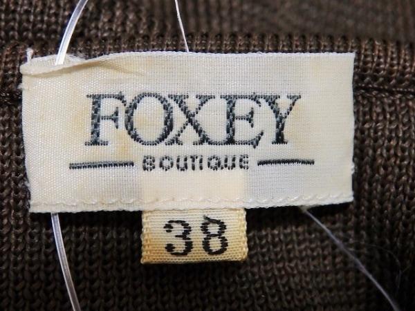 フォクシー 半袖セーター サイズ38 M