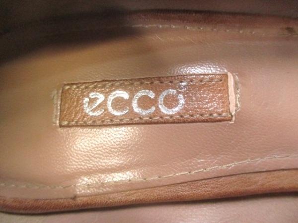 エコー パンプス 36 レディース ブラウン
