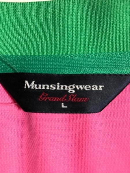 マンシングウェア 半袖ポロシャツ サイズL