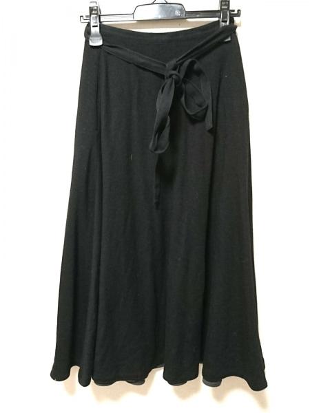 ピンクハウス 巻きスカート レディース 黒