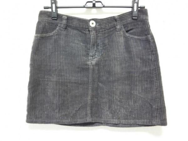 イッセイミヤケ ミニスカート サイズ2 M
