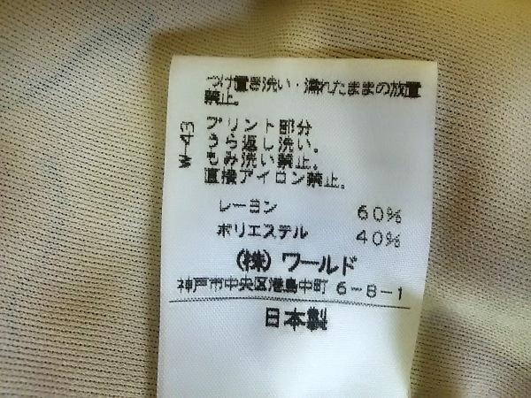 CORDIER(コルディア) ワンピース サイズ40 M レディース ベージュ×黒 花柄