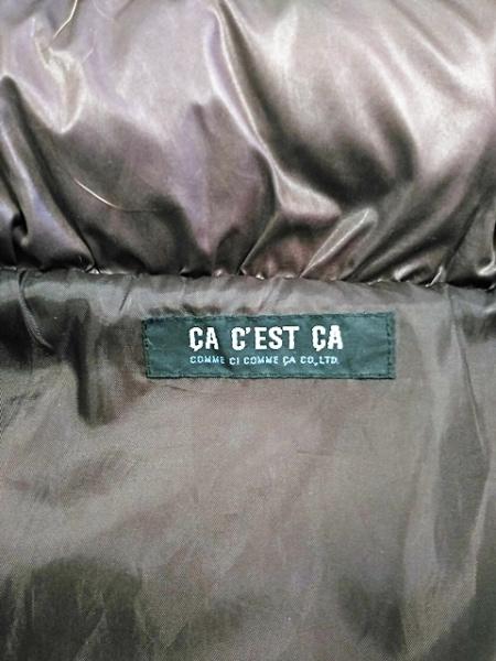 COMME CA(コムサ) ダウンコート サイズF レディース ダークブラウン 冬物