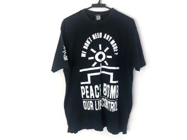 needles(ニードルス) 半袖Tシャツ メンズ美品  黒×白