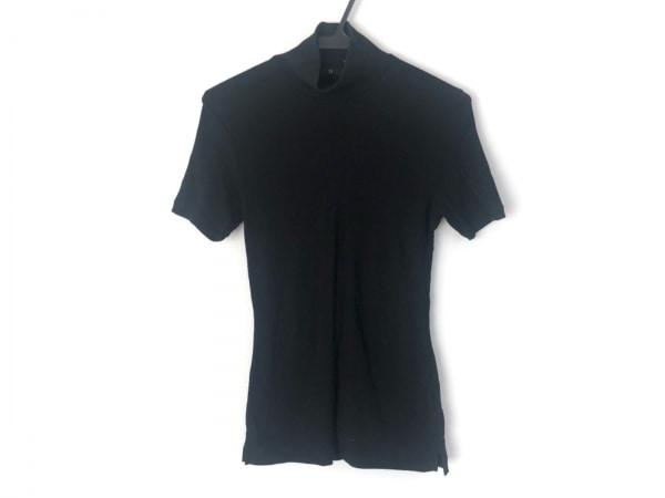 Y's(ワイズ) 半袖カットソー レディース美品  黒 ハイネック