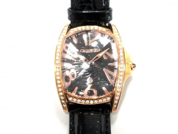 クロノテック 腕時計 ラインストーンベゼル