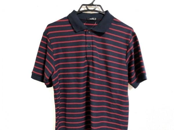 バルマン 半袖ポロシャツ メンズ ボーダー