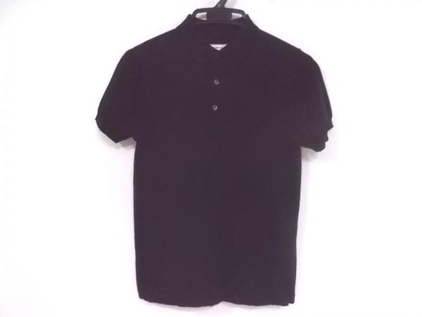 イール 半袖ポロシャツ サイズXS メンズ 黒