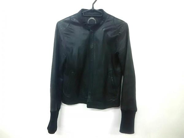 AndA(アンドエー) ライダースジャケット サイズ38 M レディース 黒 春・秋物