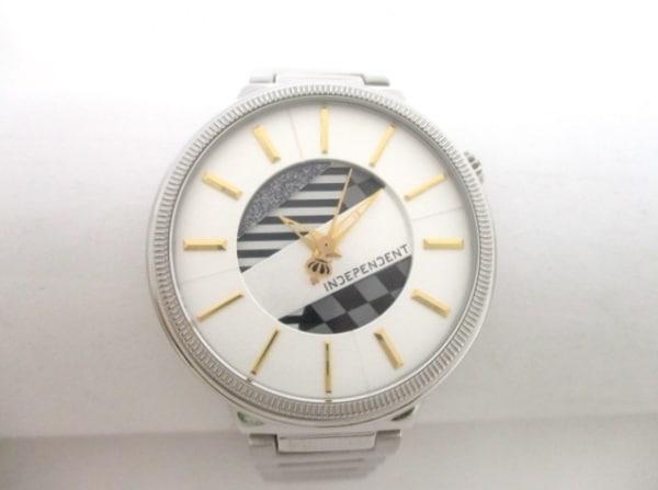 インディペンデント 腕時計美品  シルバー