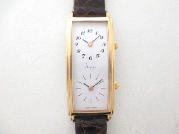 アスプレイ 腕時計 - レディース 白