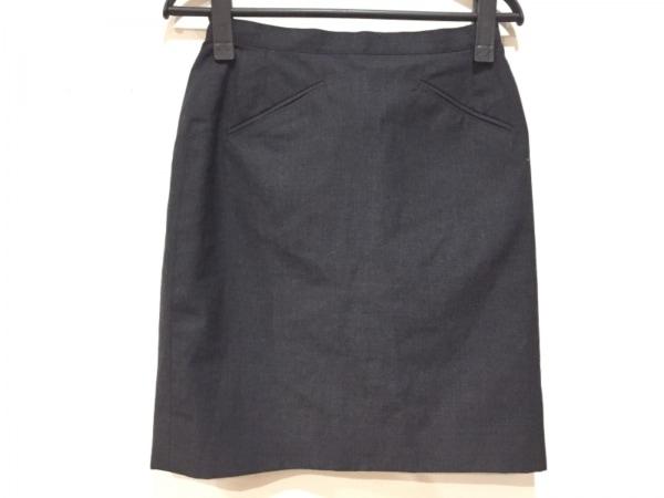 【中古】 アニエスベー agnes b スカート サイズ無し レディース 黒