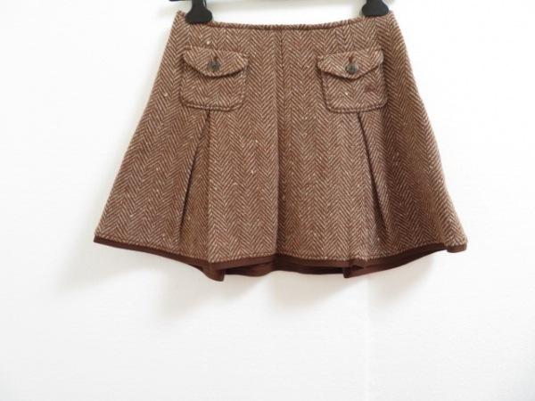 バーバリーブルーレーベル ミニスカート サイズ36 S レディース美品