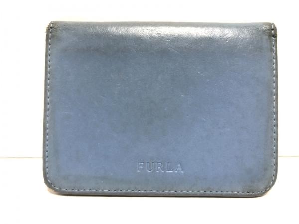 FURLA(フルラ) パスケース ブルー レザー 1