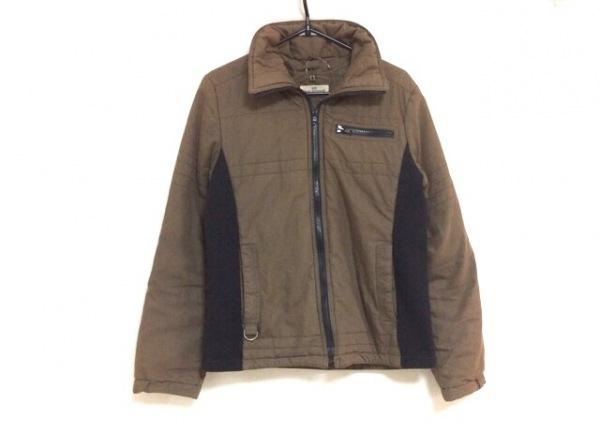 ジーンナッソーズ ダウンジャケット サイズ3 L レディース ブラウン×黒