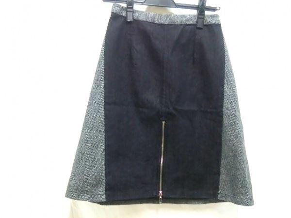 【中古】エゴイスト EGOIST スカート サイズ1 S レディース グレーxブラック