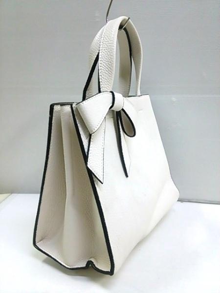 ノーブランド ハンドバッグ ホワイト 2