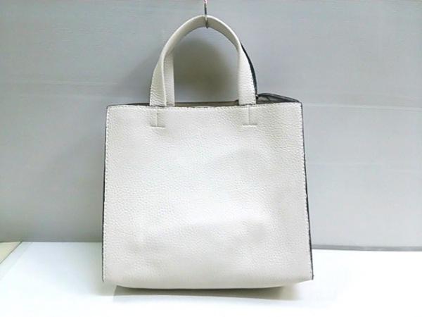 ノーブランド ハンドバッグ ホワイト 3