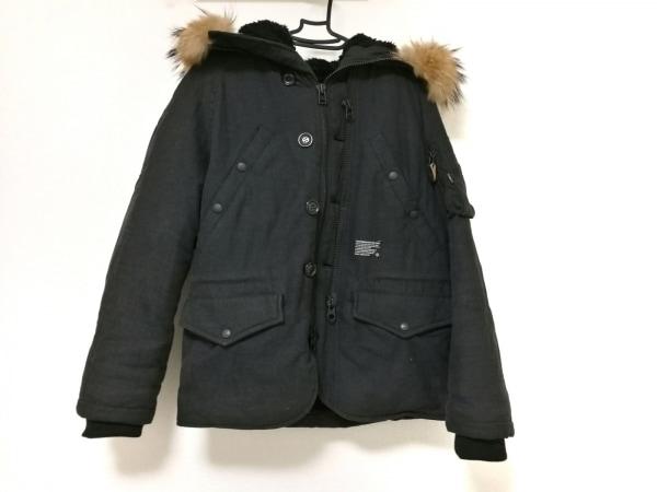 QUENCHLOUD(クエンチラウド) ダウンジャケット サイズ3 L メンズ 黒 冬物