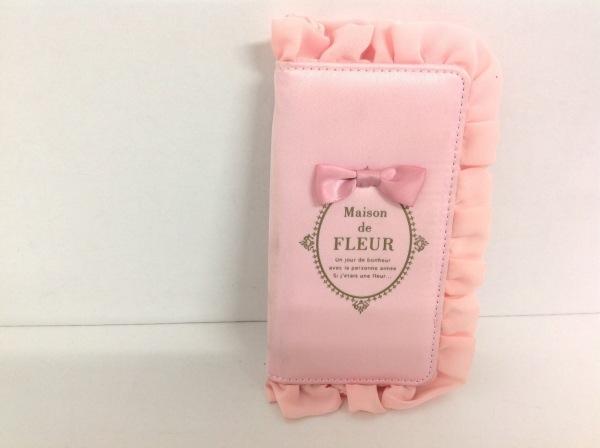 メゾンドフルール 携帯電話ケース ピンク