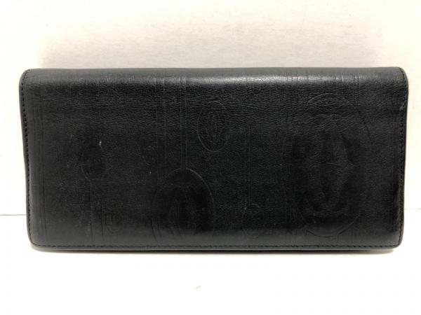 Cartier(カルティエ) 長財布 - 黒 レザー