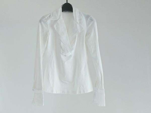 Anne Fontaine(アンフォンティーヌ) 長袖カットソー サイズ38 M レディース美品  白