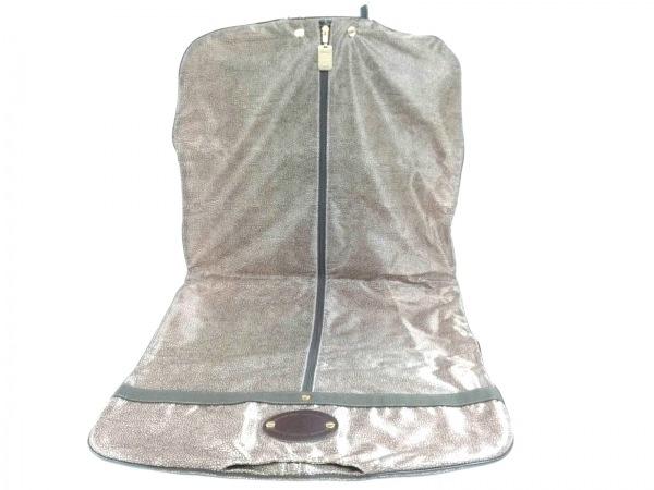 BORBONESE(ボルボネーゼ) 小物美品  ブラウン スーツカバー ナイロン