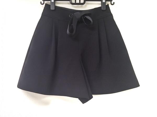 DAISY LIN(デイジーリン) ショートパンツ サイズ38 M レディース 黒 リボン