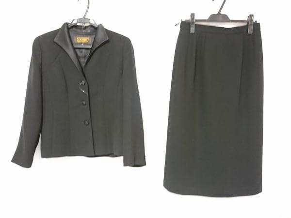 アラミス スカートスーツ サイズ15 L 黒
