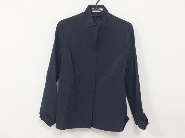 ジャンニロジュディチェ ジャケット サイズ40 M レディース 黒 ジップアップ