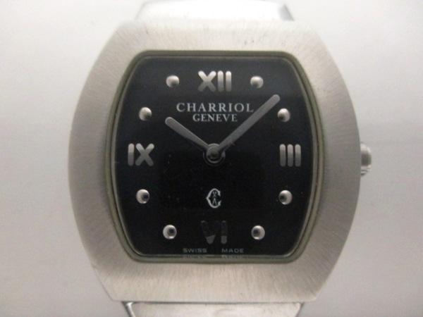 シャリオール 腕時計美品  アジュール 黒