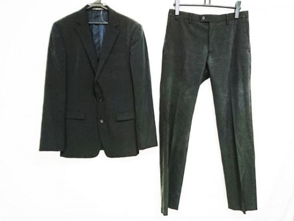 コムサメン シングルスーツ サイズ48 XL 黒